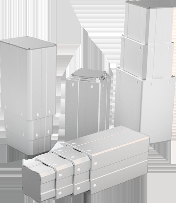 Customized lifting columns